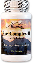 Eye Complex II with Lutein 250 tablets Item 733