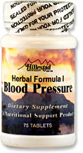Herbal Formula I - Blood Pressure 722