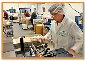 Hillestad factory labeling operations